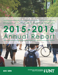2015-16 Division of Institutional Equity & Diversity Annual Report