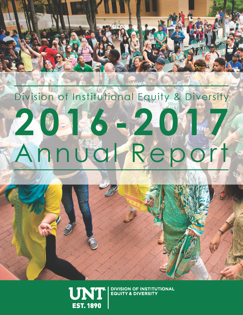 2016-17 Division of Institutional Equity & Diversity Annual Report