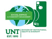 Social Justice and Community Engagement Show Logo