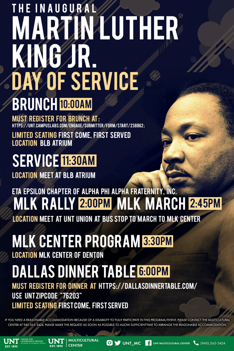 Martin Luther King Jr. Day of Service | Division of ...