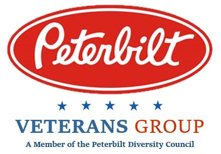 Peterbilt Veteran's Group logo