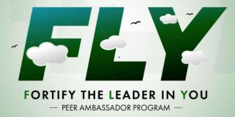 F.L.Y. Peer Ambassador program banner