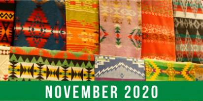 November 2020 banner for Native American Heritage Month
